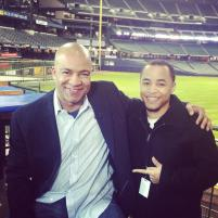 TMJ4 sports anchor Rod Burks and I