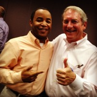 Me and CMG President Bill Hoffman