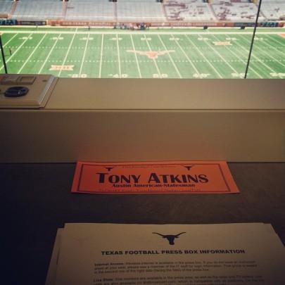 """The University of Texas welcomes Tony Atkins, Austin American-Statesman"