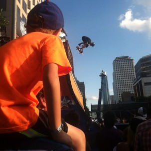 I took this photo at the X Games