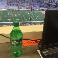 My view at Texas' DKR Stadium