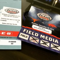 My credentials for covering the Texas Bowl
